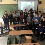 Visita del alumnado de Jesuitas de Montreal (Canadá)